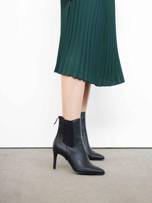 London Ankle Boots, Black, hi-res