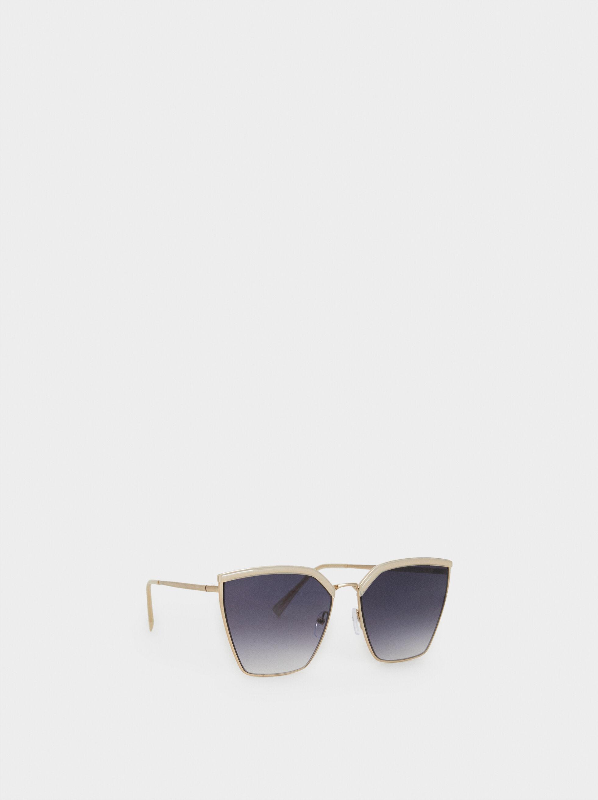 Metal Sunglasses, Pink, hi-res
