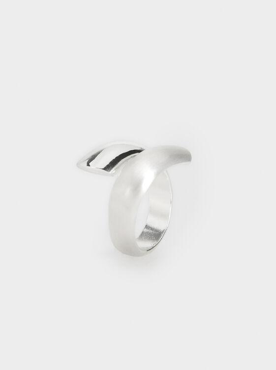 Silver Basics Ring, , hi-res