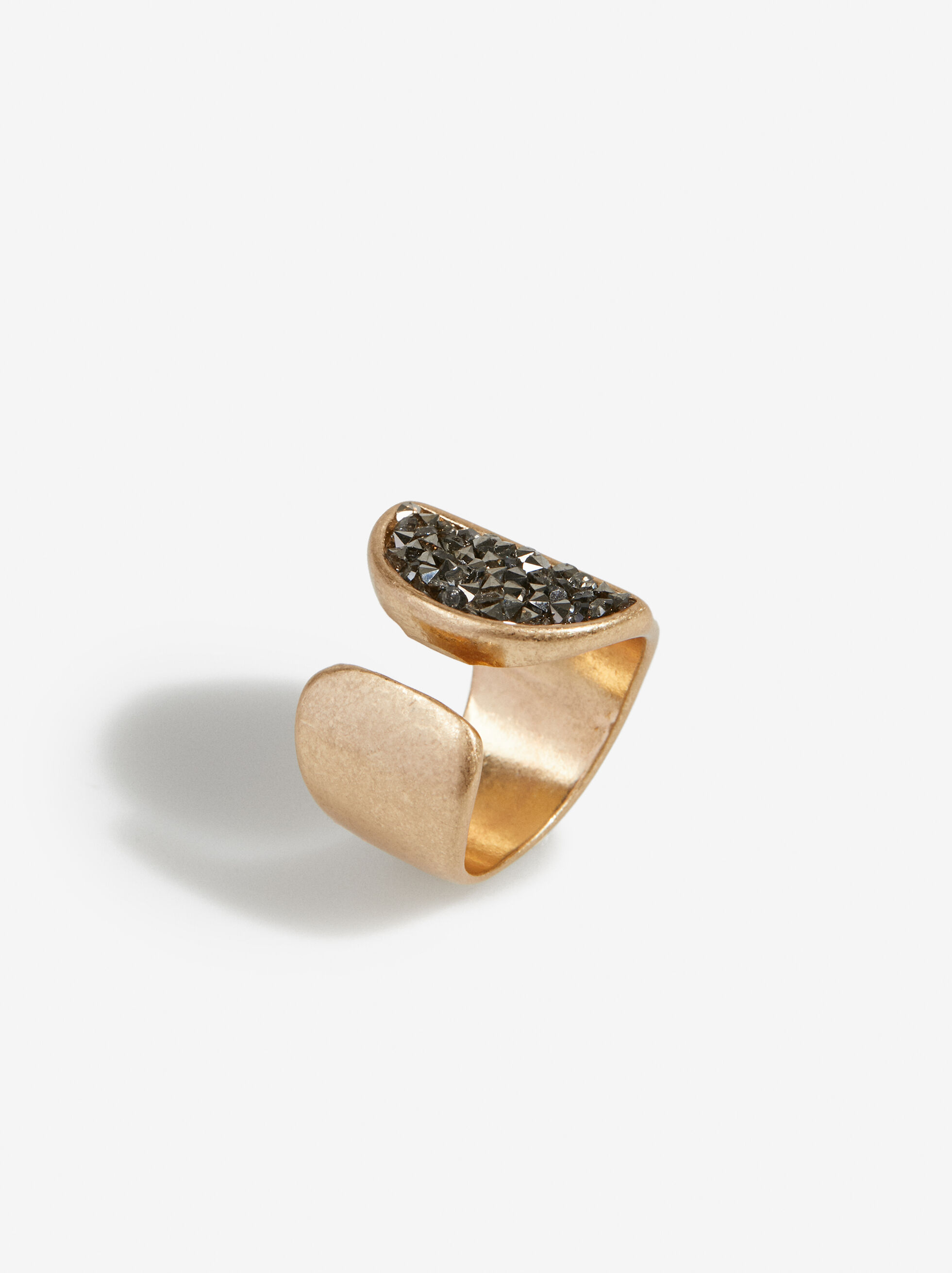 Golden Basics Ring, , hi-res