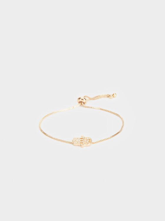 Adjustable Bracelet With Hand, , hi-res