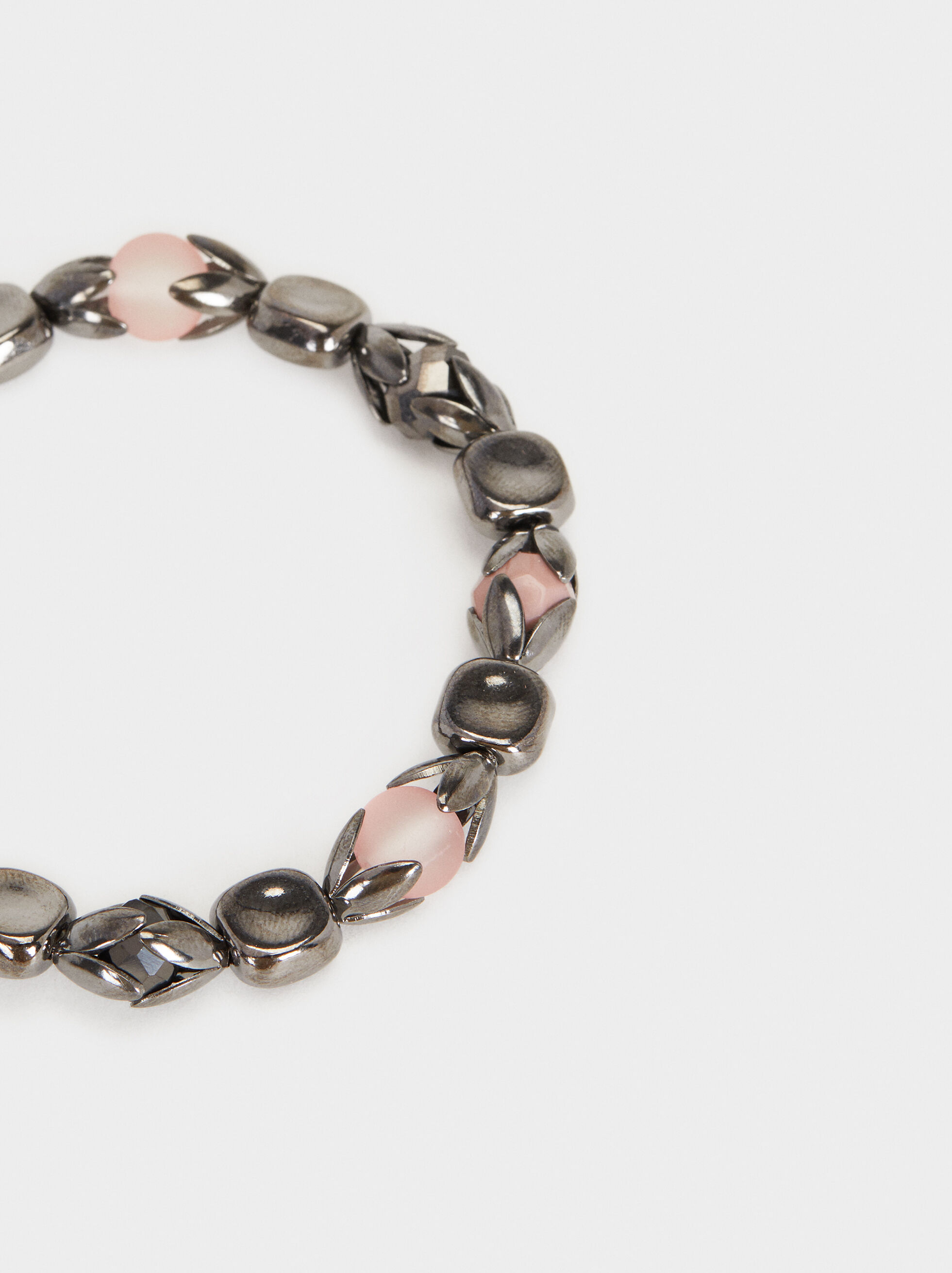 Cosmic Pink Elasticated Bracelet , Multicolor, hi-res