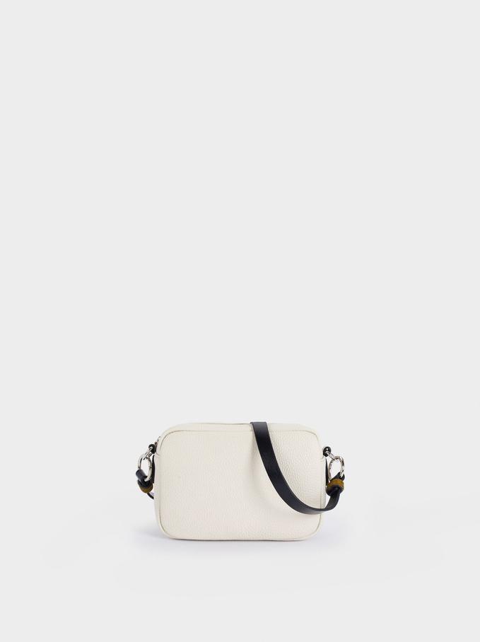 Crossbody Bag With Multiway Strap, Ecru, hi-res