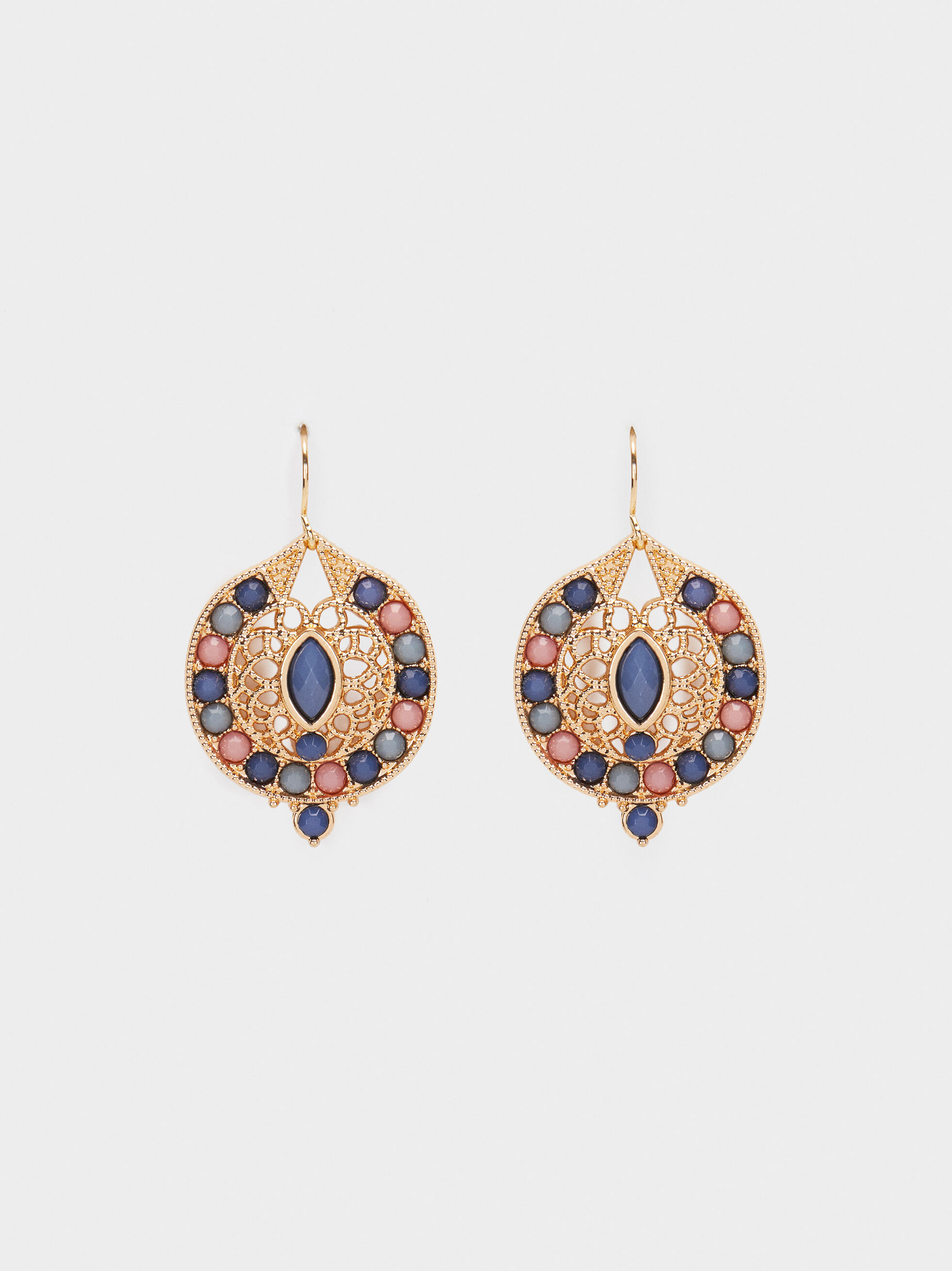 Medium Multicoloured Earrings, , hi-res