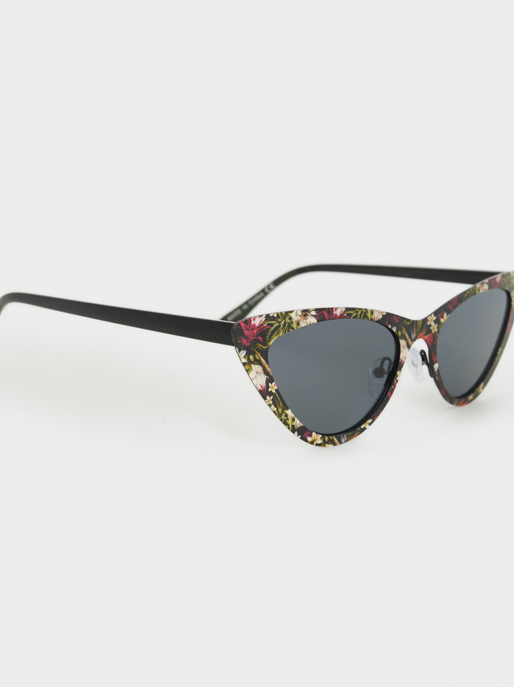 Cat-Eye Sunglasses, Multicolor, hi-res