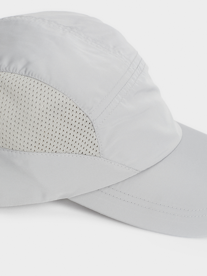 Limited Edition Plain Cap, Grey, hi-res