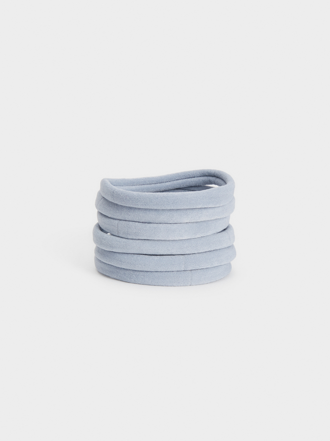 Pack Of Hair Ties Limited Edition, Multicolor, hi-res
