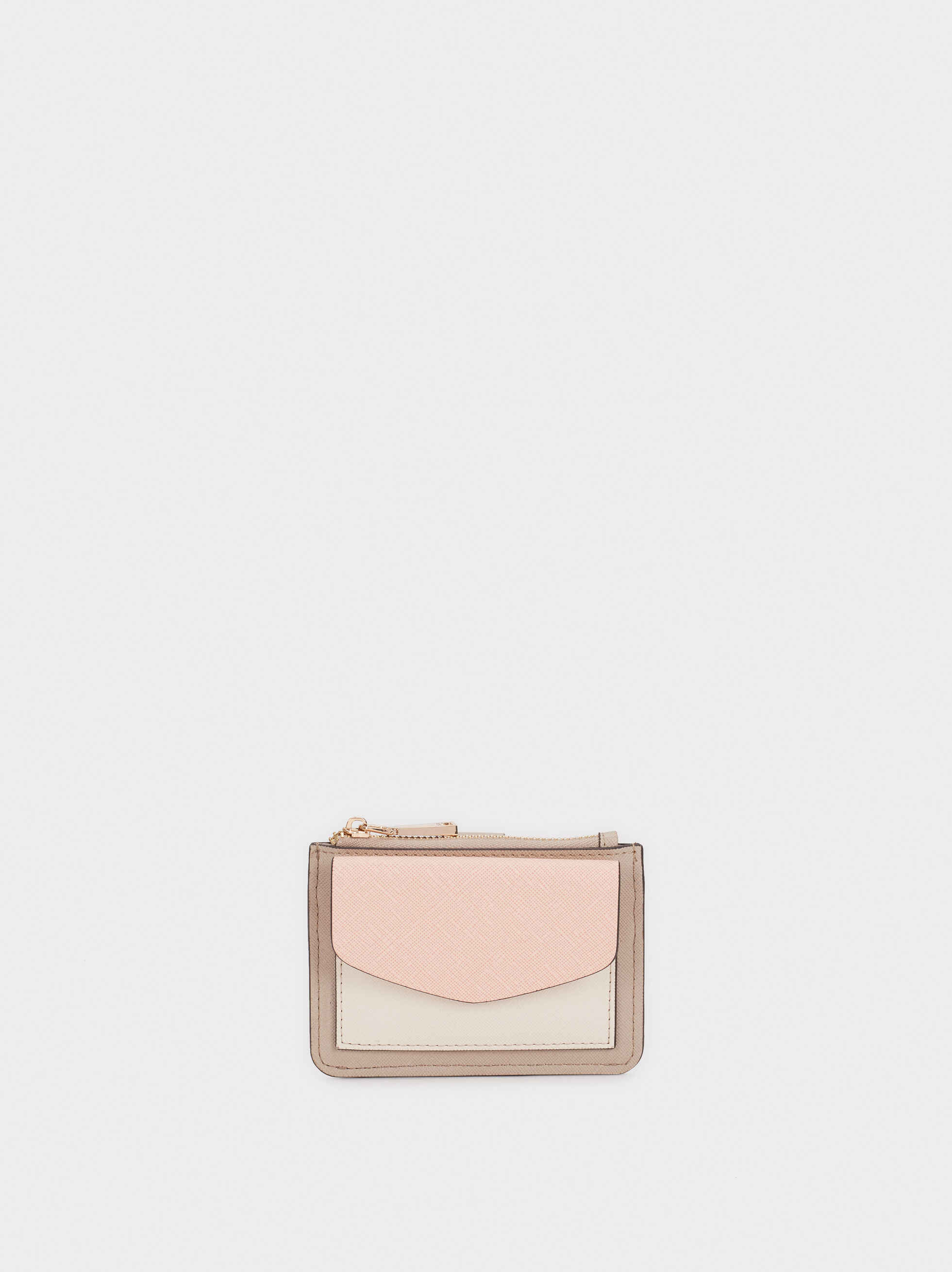 Multi-Colour Card Holder, Pink, hi-res