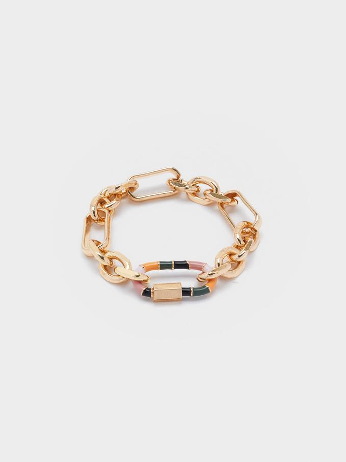 Multicolor Links Bracelet, Multicolor, hi-res