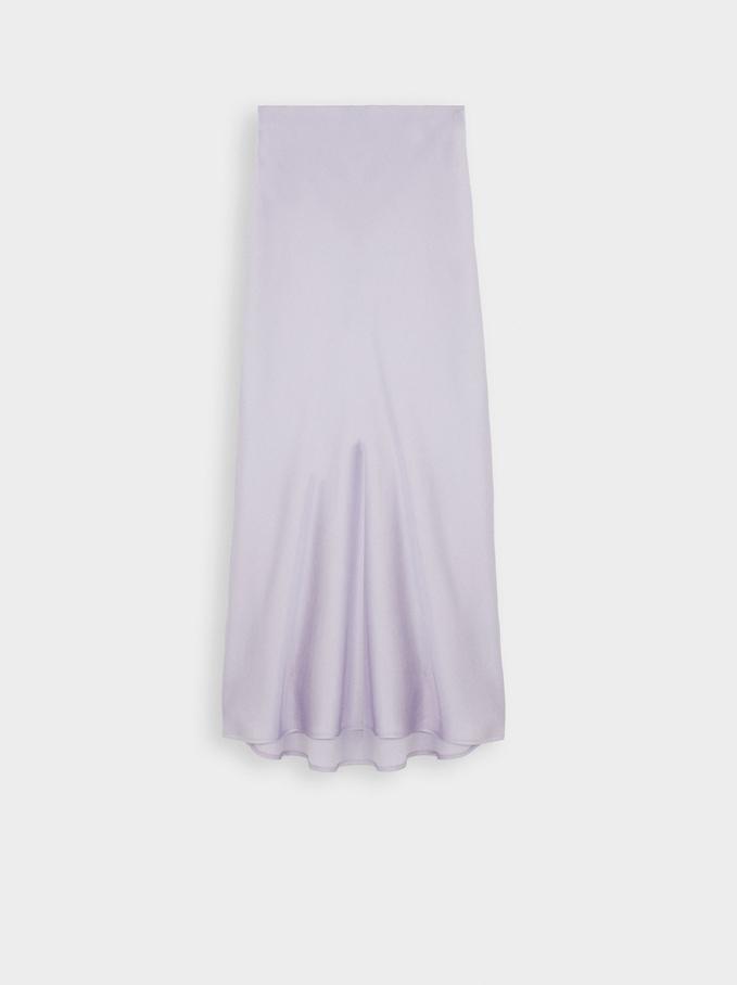 Limited Edition Long Skirt, Violet, hi-res