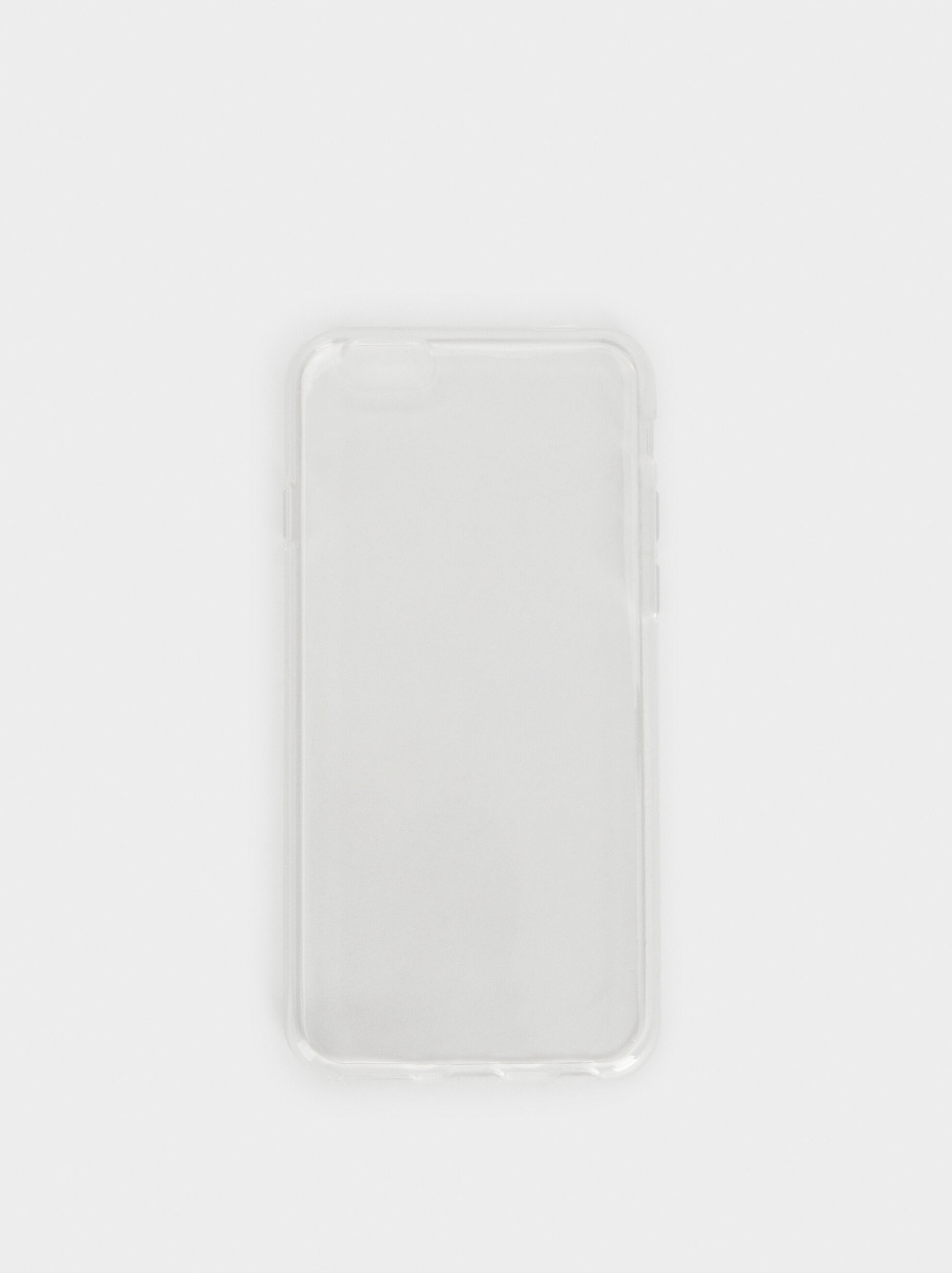 Transparent Iphone 6 Case, Grey, hi-res