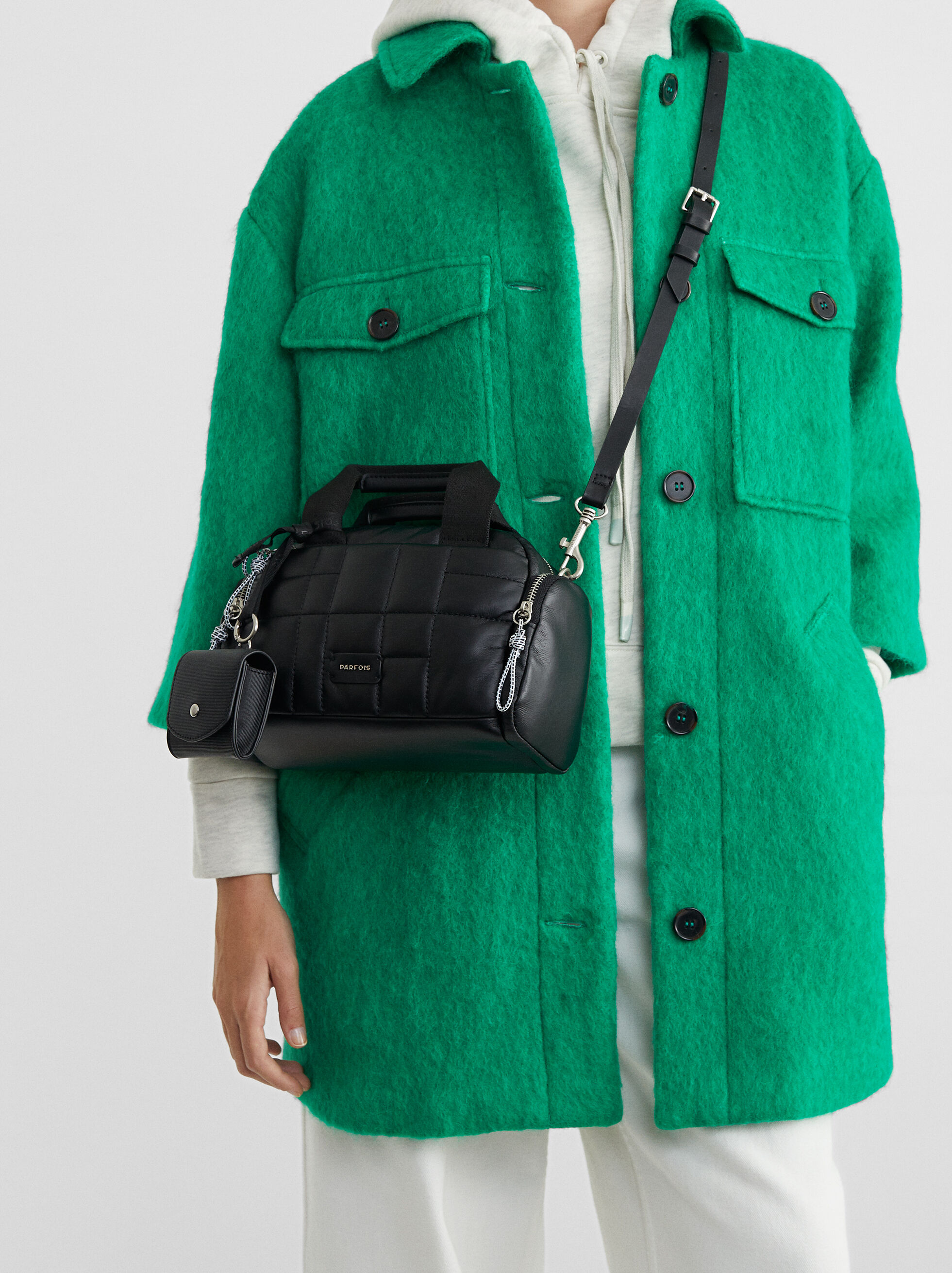 Quilted Crossbody Bag, , hi-res