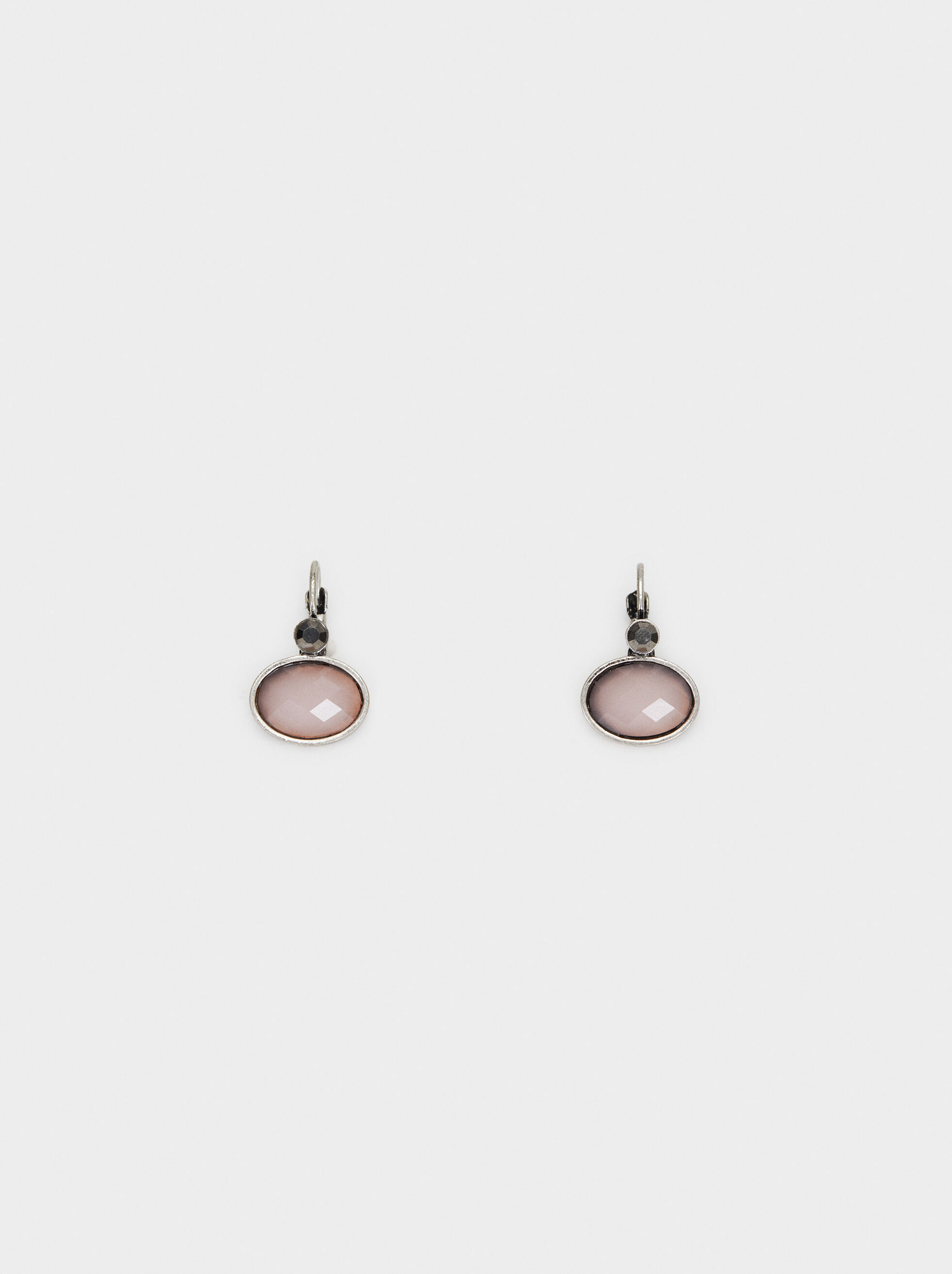 Cosmic Pink Short Earrings, Multicolor, hi-res