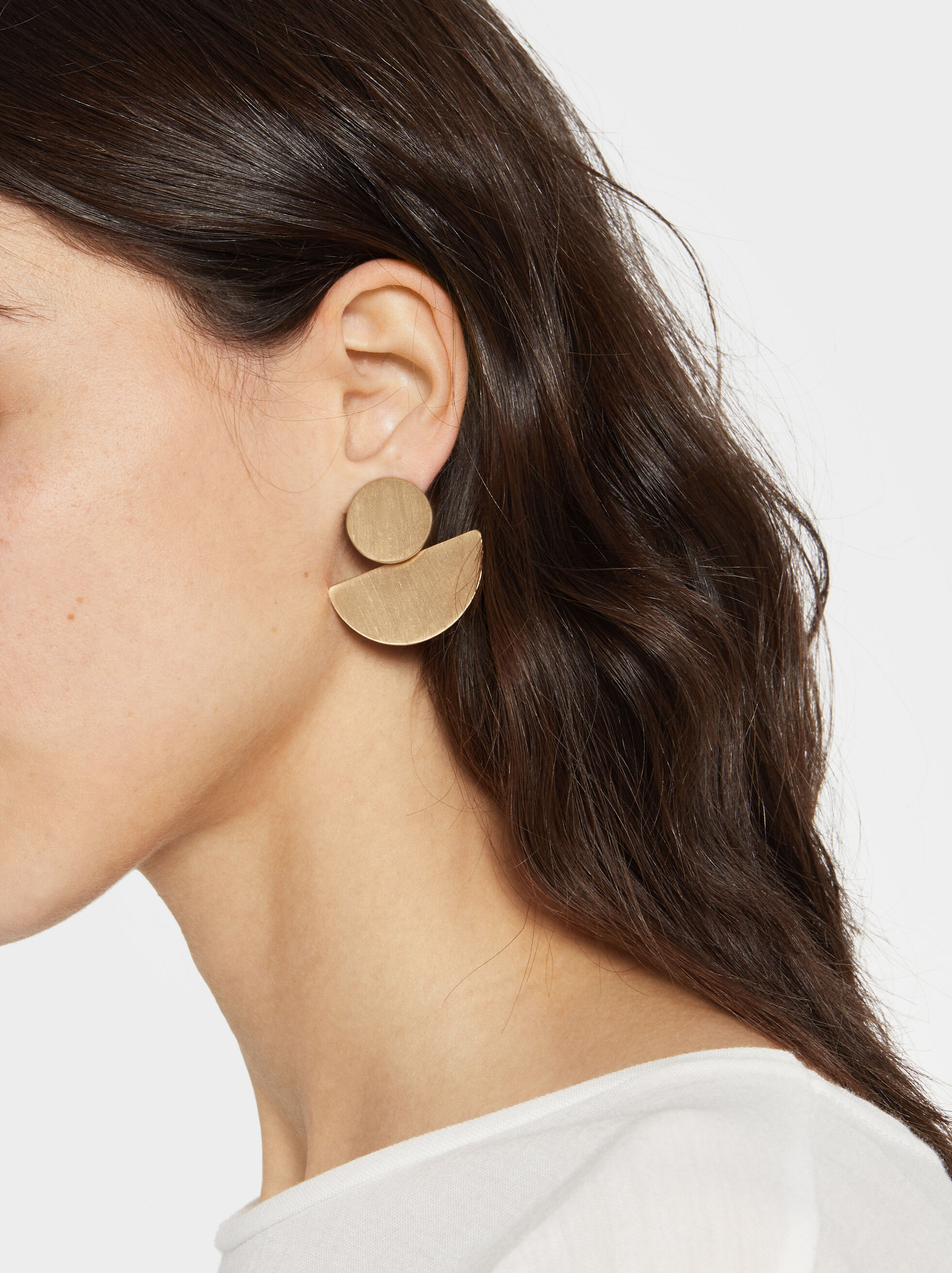 Medium Geometric Earrings, , hi-res