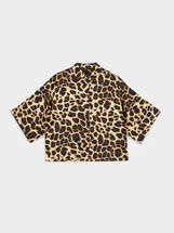 Animal Print Shirt, Golden, hi-res