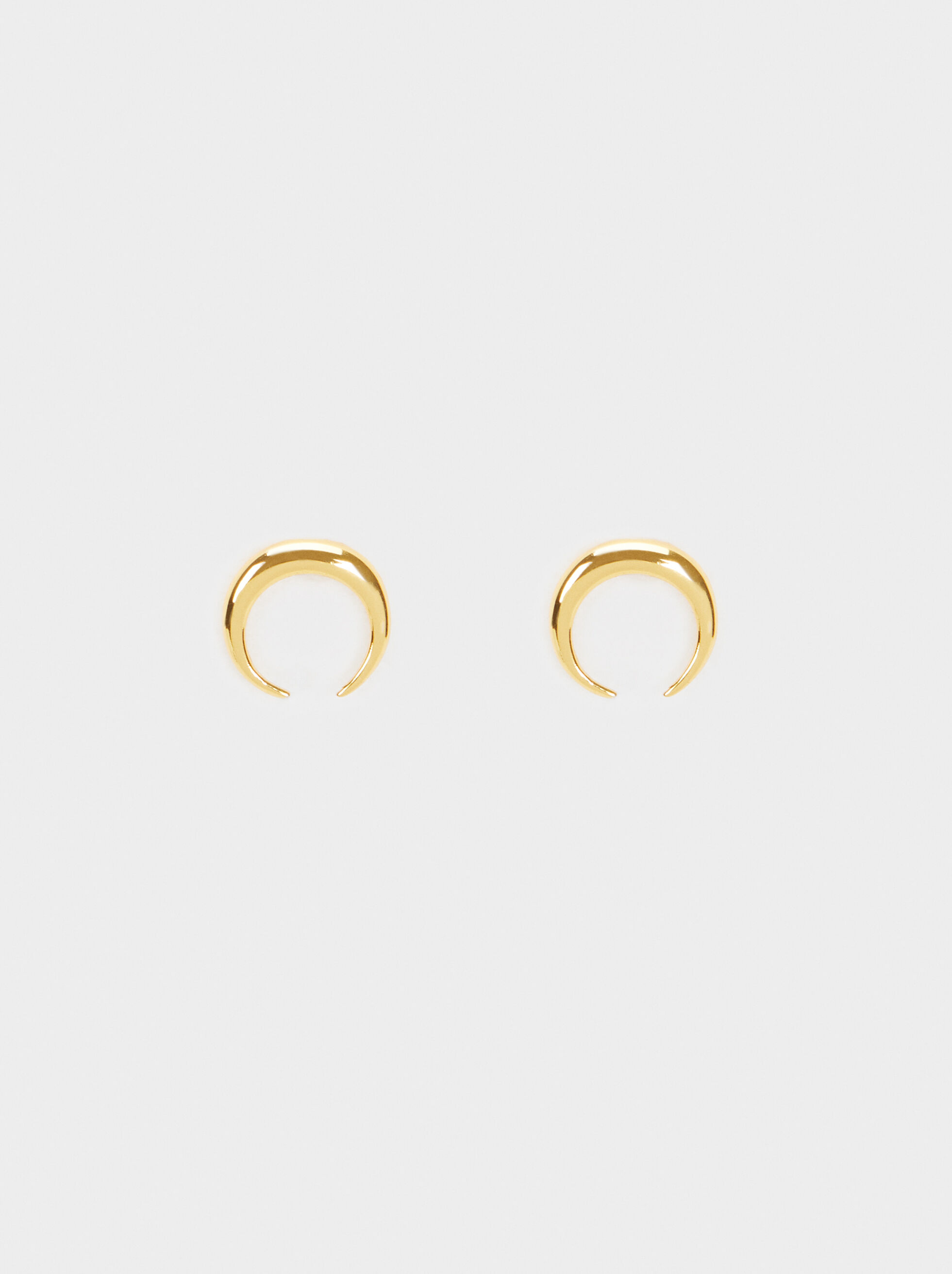 925 Sterling Silver Short Earrings , , hi-res