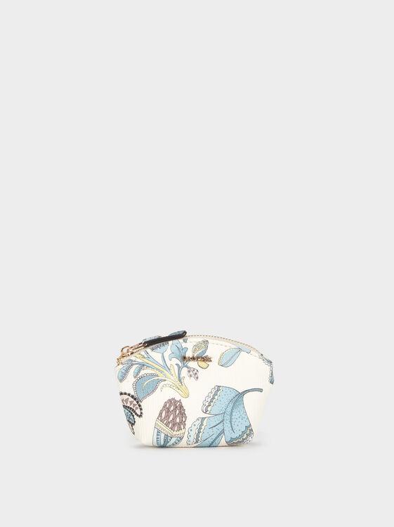 Small Floral Print Purse, , hi-res