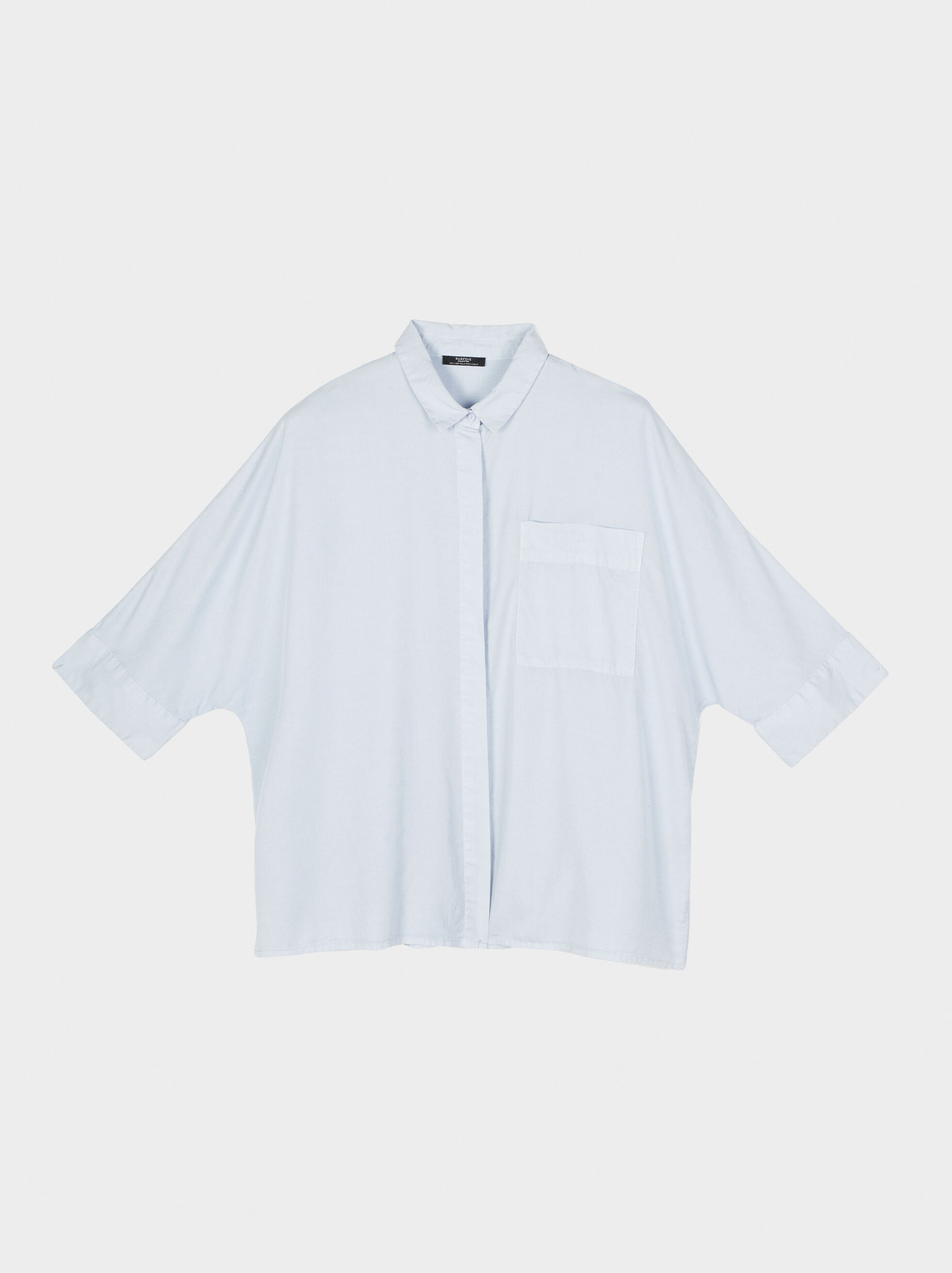 Shirt With Pocket, Blue, hi-res