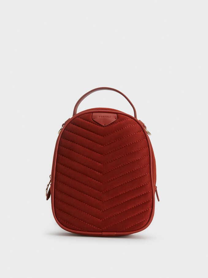 North Backpack, Brick Red, hi-res
