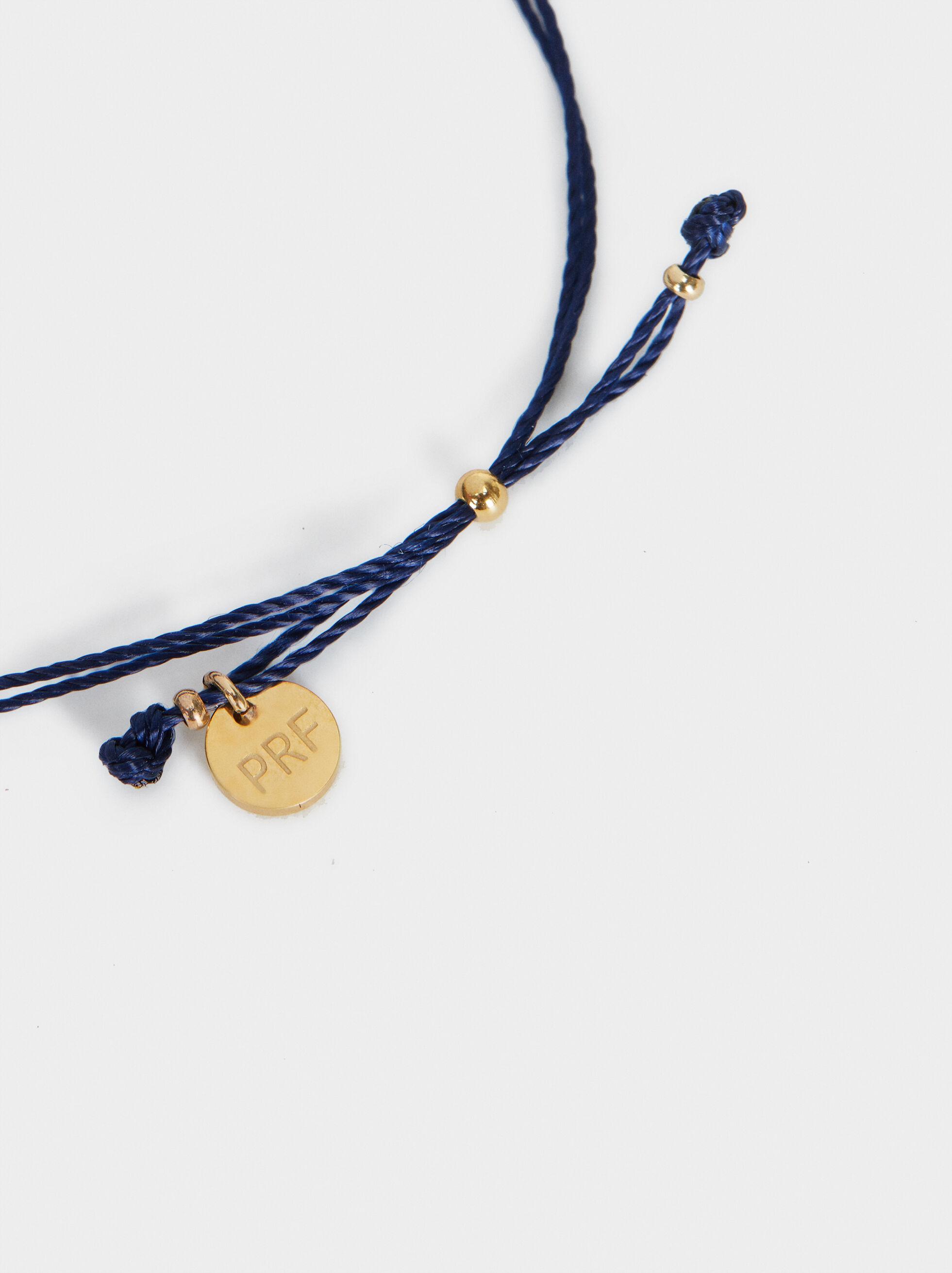 Strawberry Bracelet, Navy, hi-res