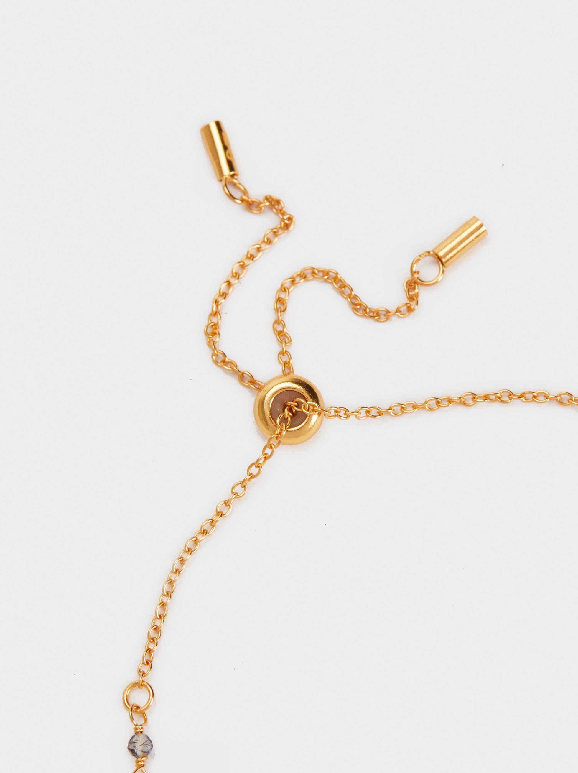 925 Silver Adjustable Bracelet With Medal Charms, Grey, hi-res
