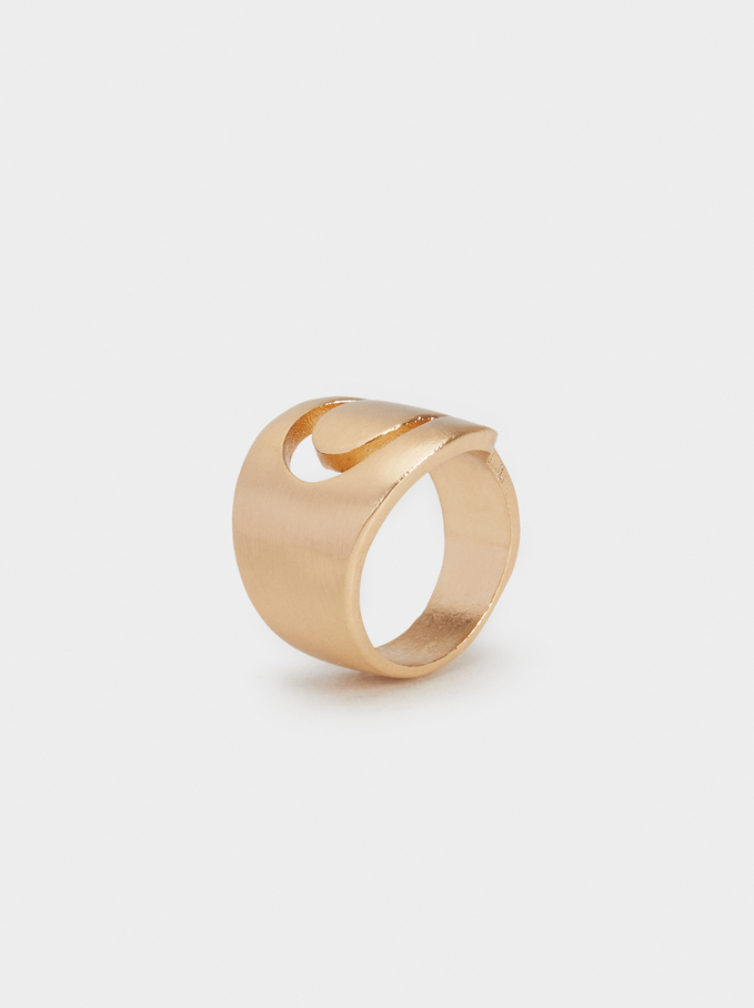 Basic Ring, Golden, hi-res