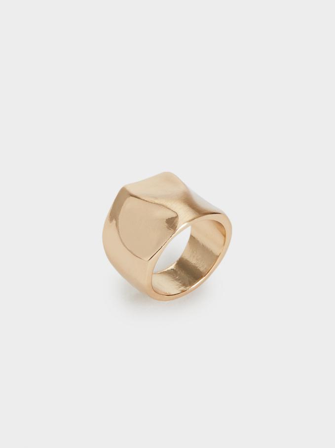 Basic Ring, Golden, hi-res