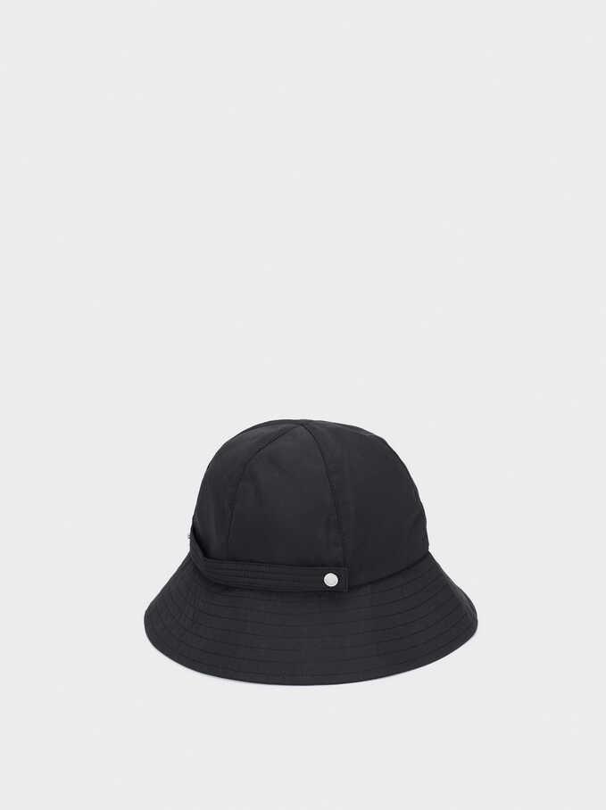 Waterproof Rain Hat, Black, hi-res