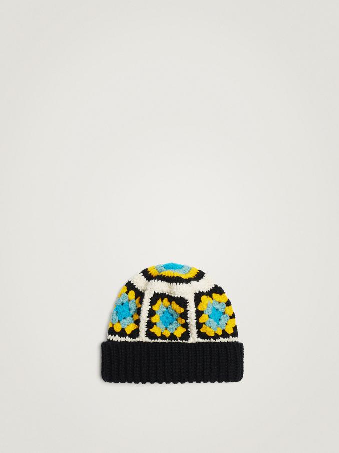 Gorro Crochet, Multicor, hi-res