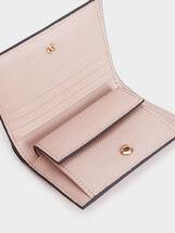 Small Plain Purse, Pink, hi-res