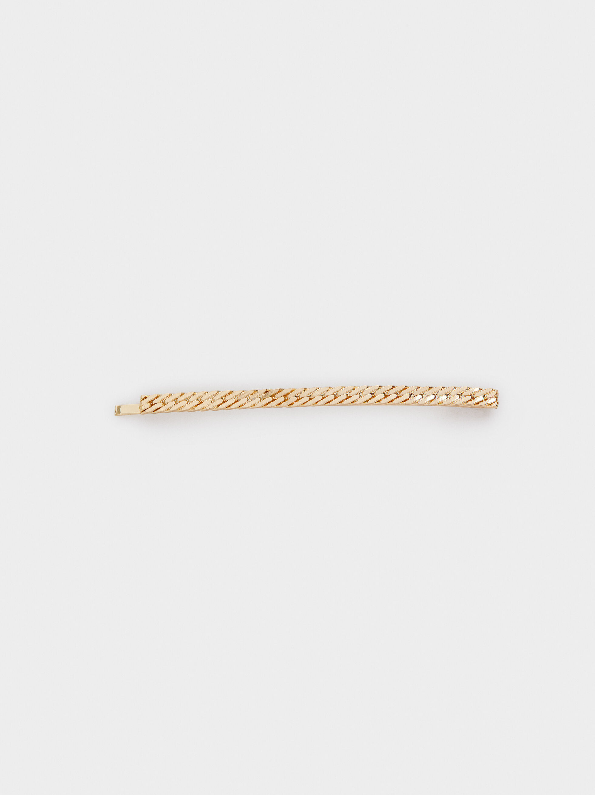 Gold Hair Slide, Golden, hi-res