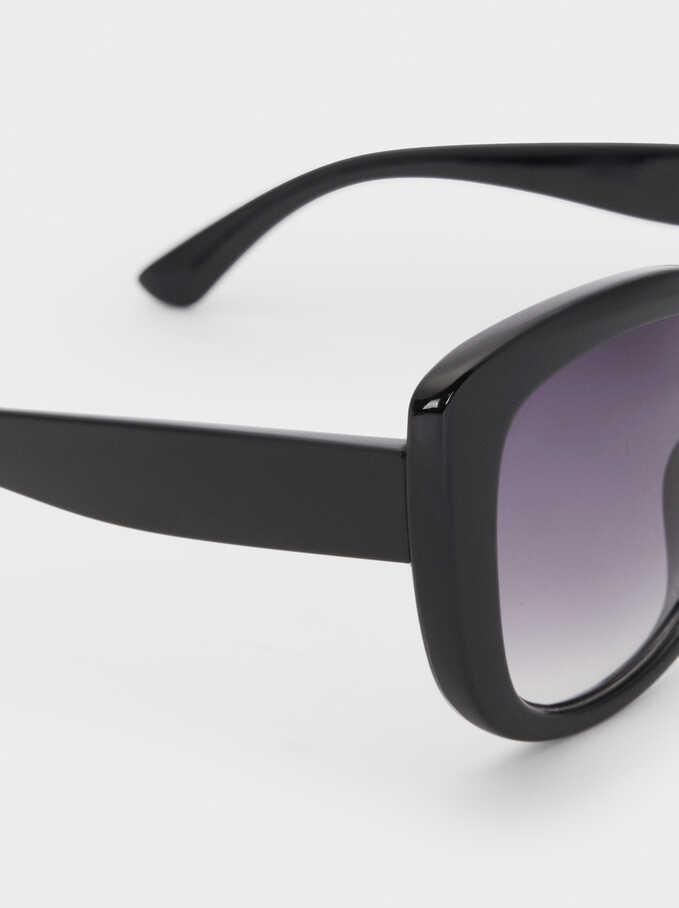 Resin Sunglasses, Black, hi-res