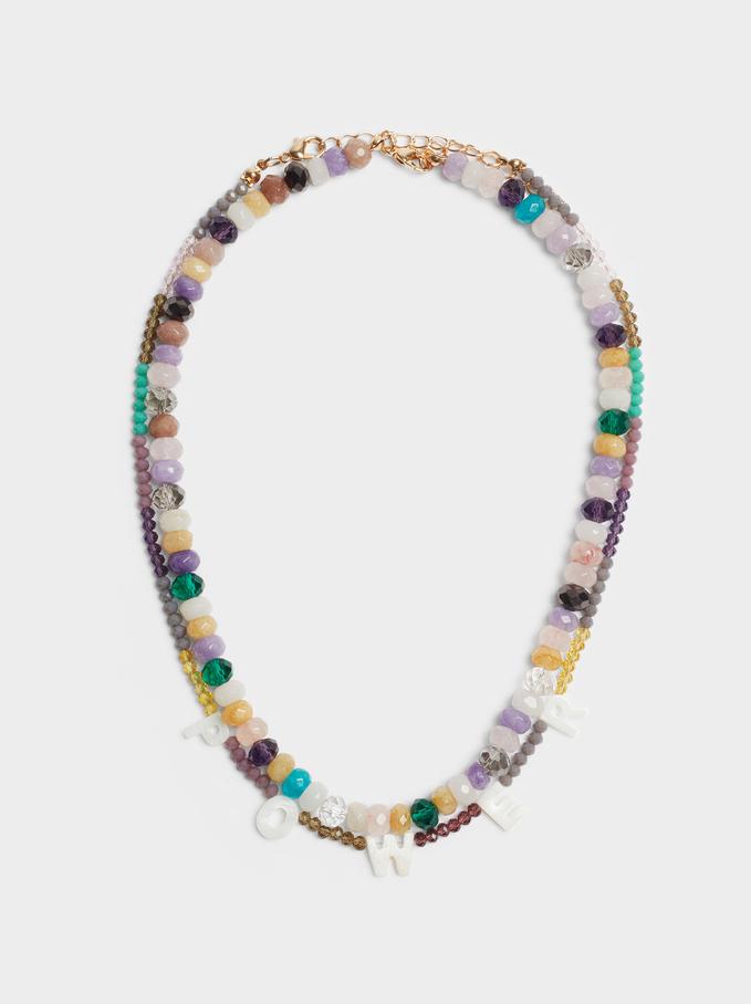 Set De Colliers Avec Perles Fantaisie Power, Multicolore, hi-res
