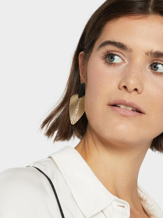 Blog Long Leaf Earrings, , hi-res