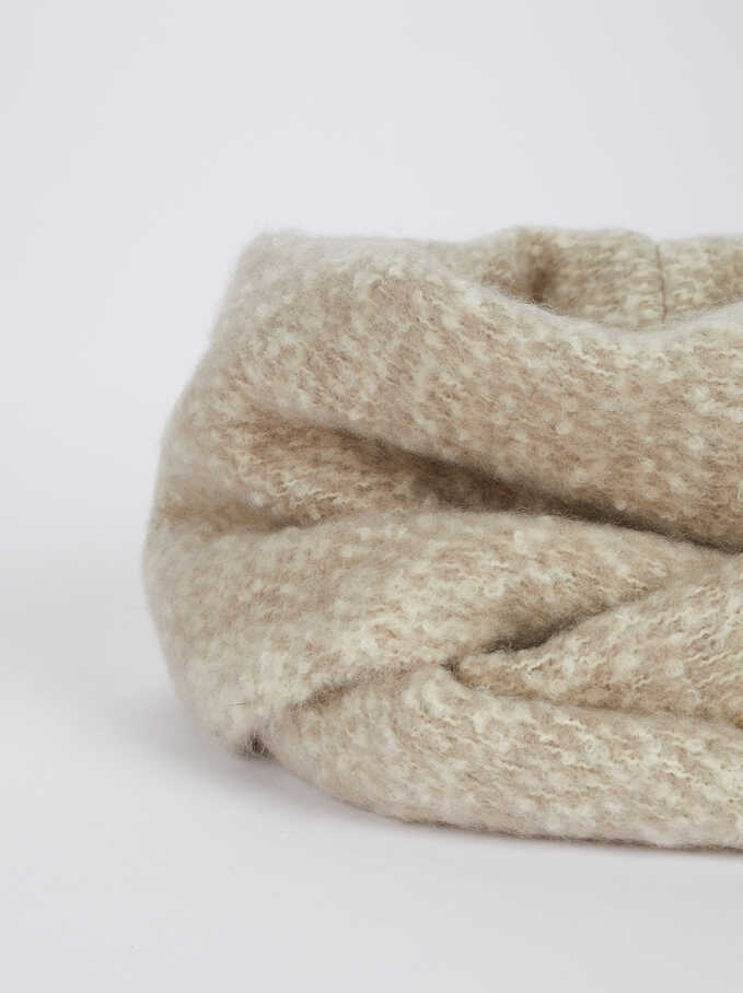 Plain Snood, Grey, hi-res