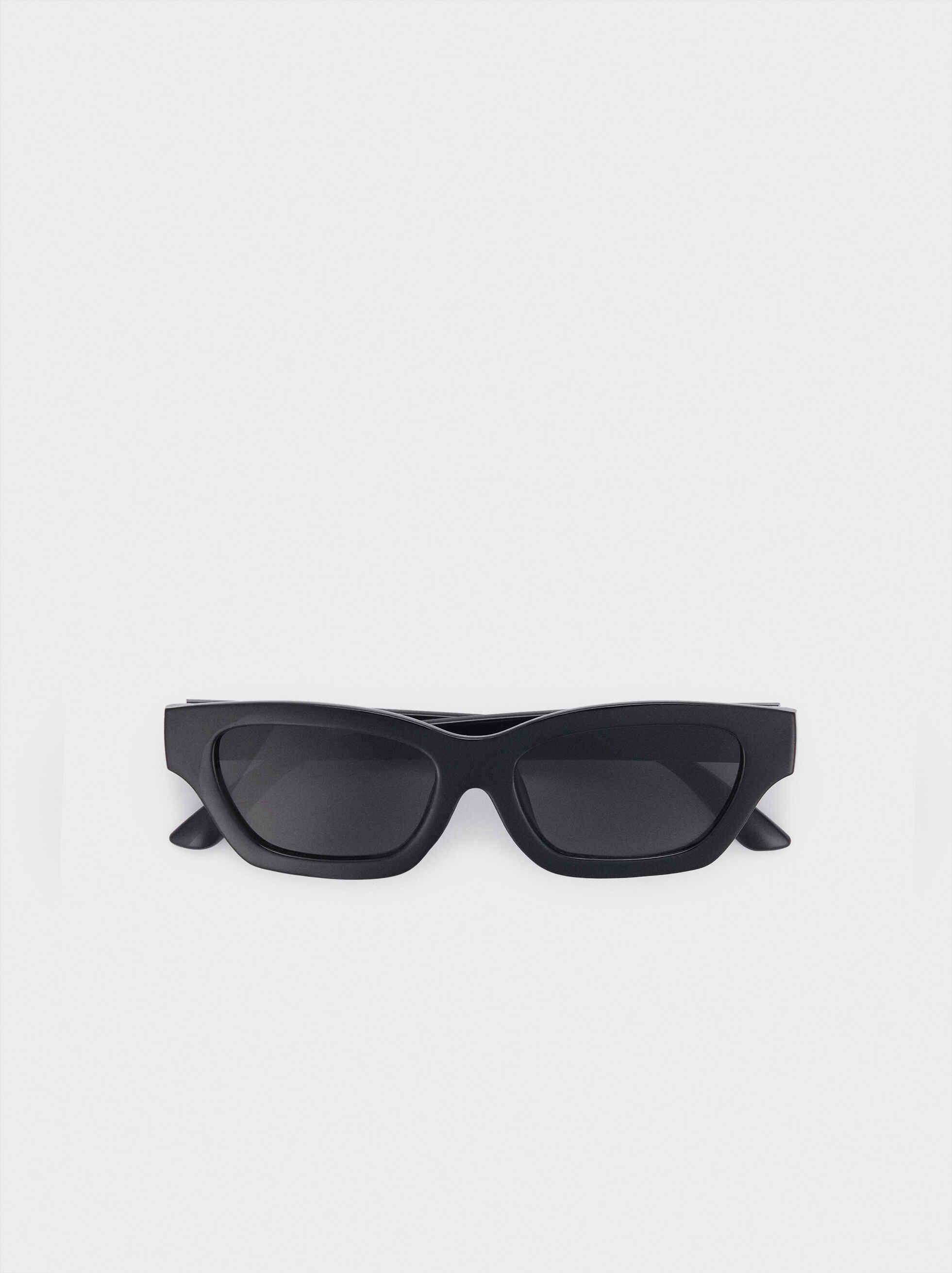 Gafas De Sol Cat Eye, Negro, hi-res