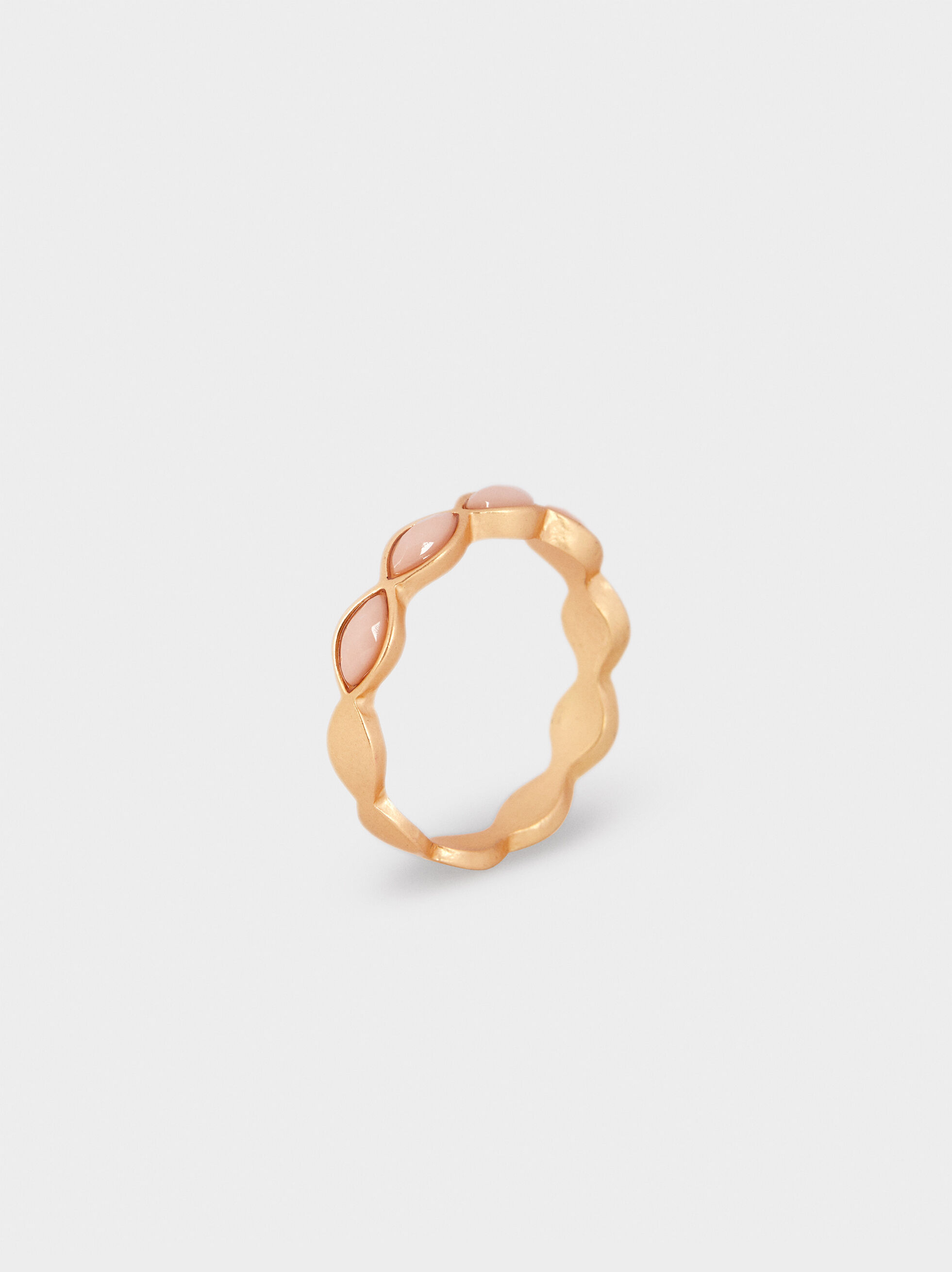 Multicoloured Ring, Pink, hi-res