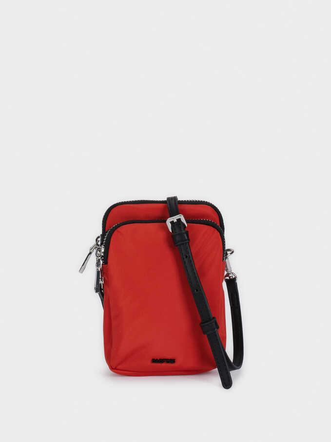 Nylon Phone Case, Orange, hi-res