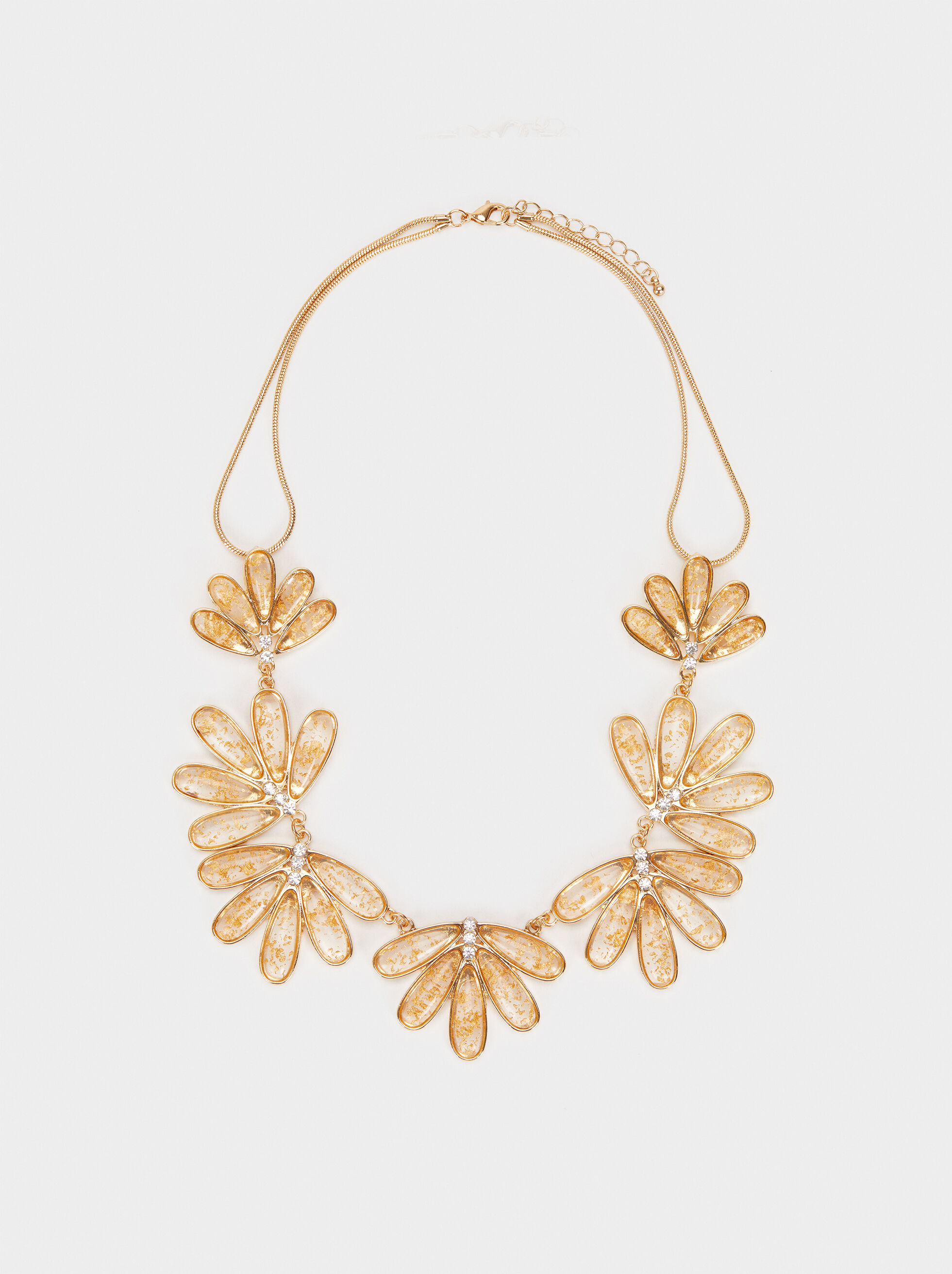 Exclusive Collection Short Necklace, Golden, hi-res