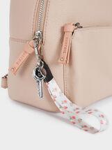 Backpack With Outer Pocket, Pink, hi-res