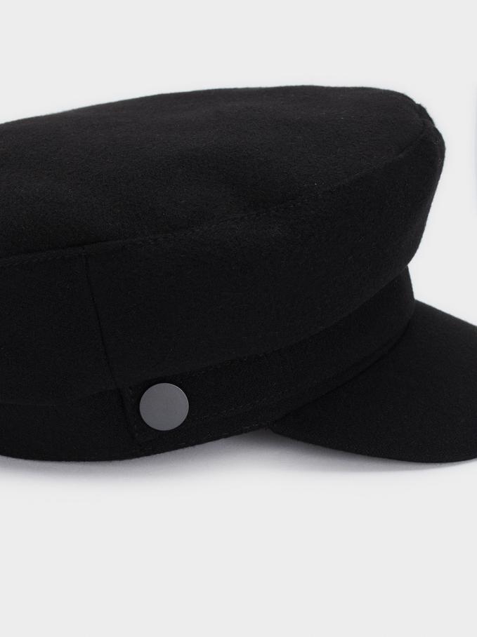 Cappello Marinaio, Nero, hi-res