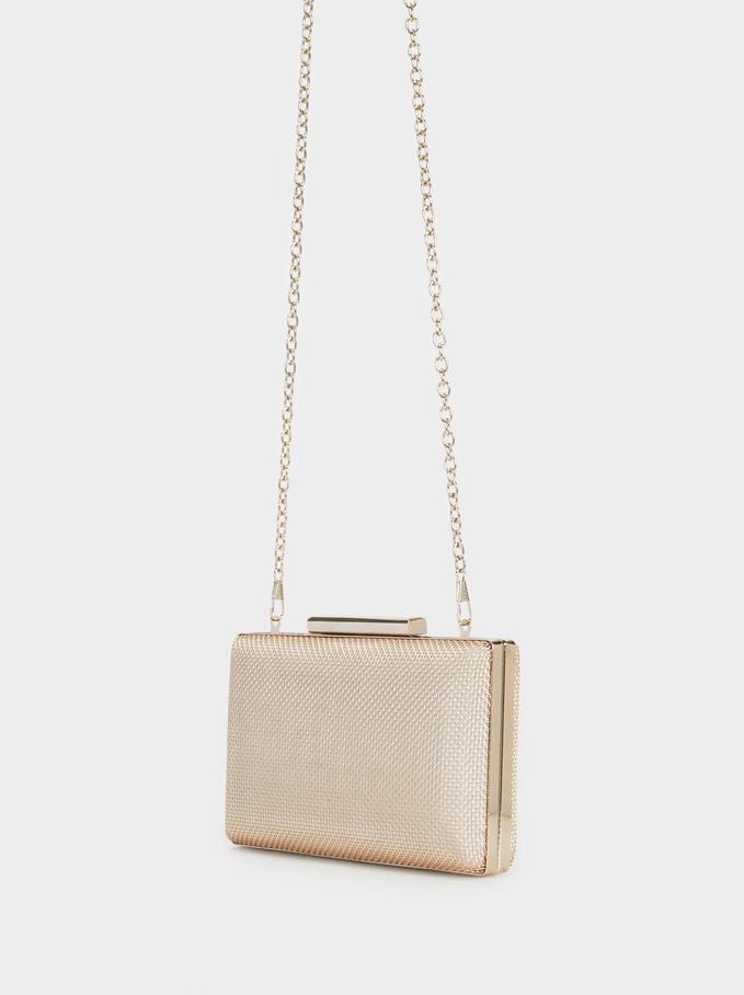 Forever Box Bag, Golden, hi-res