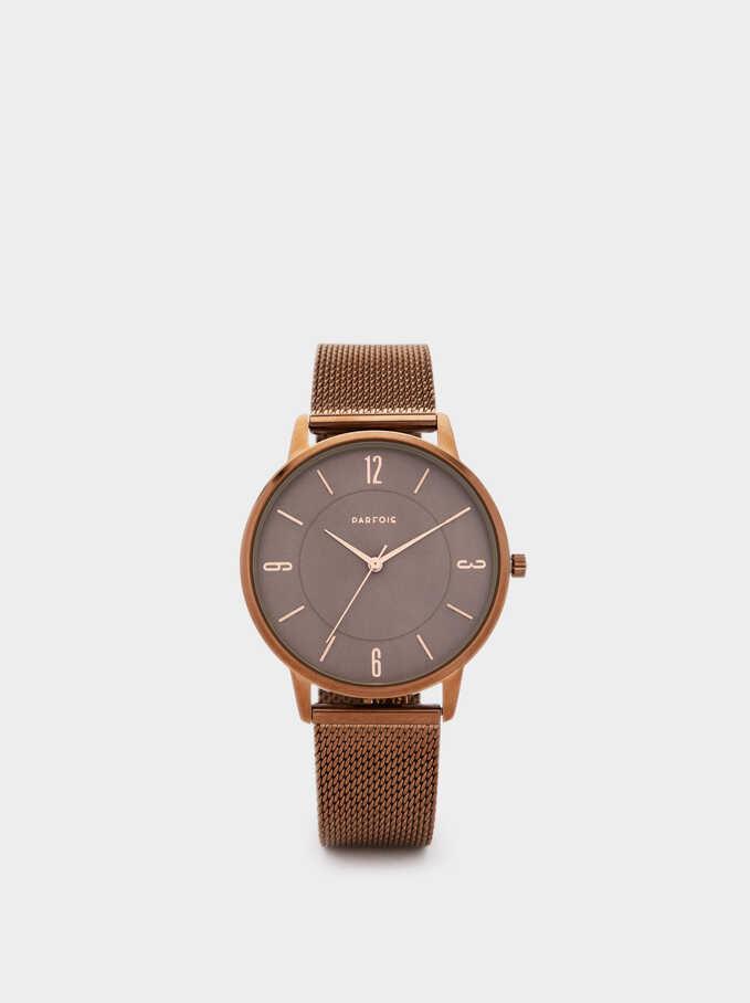 Brown Watch, Brown, hi-res