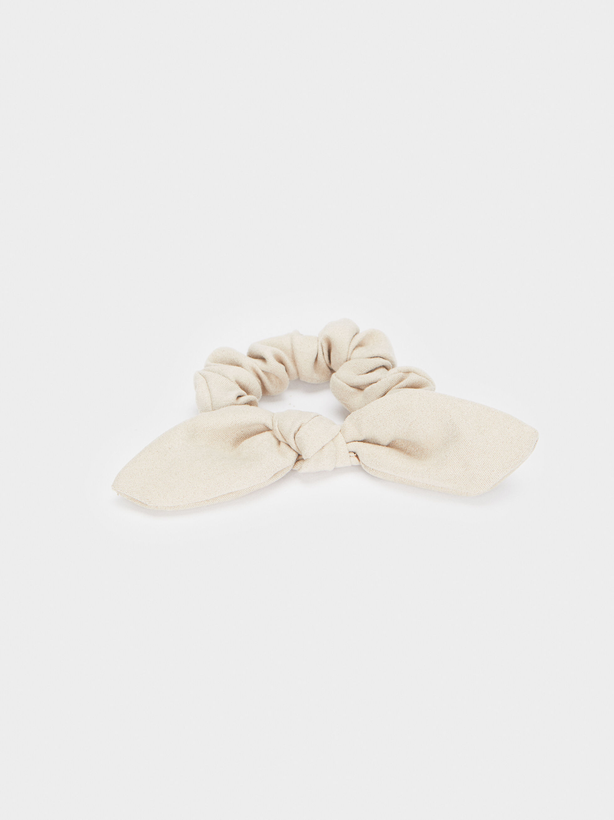 Hair Scrunchie With Bow, , hi-res
