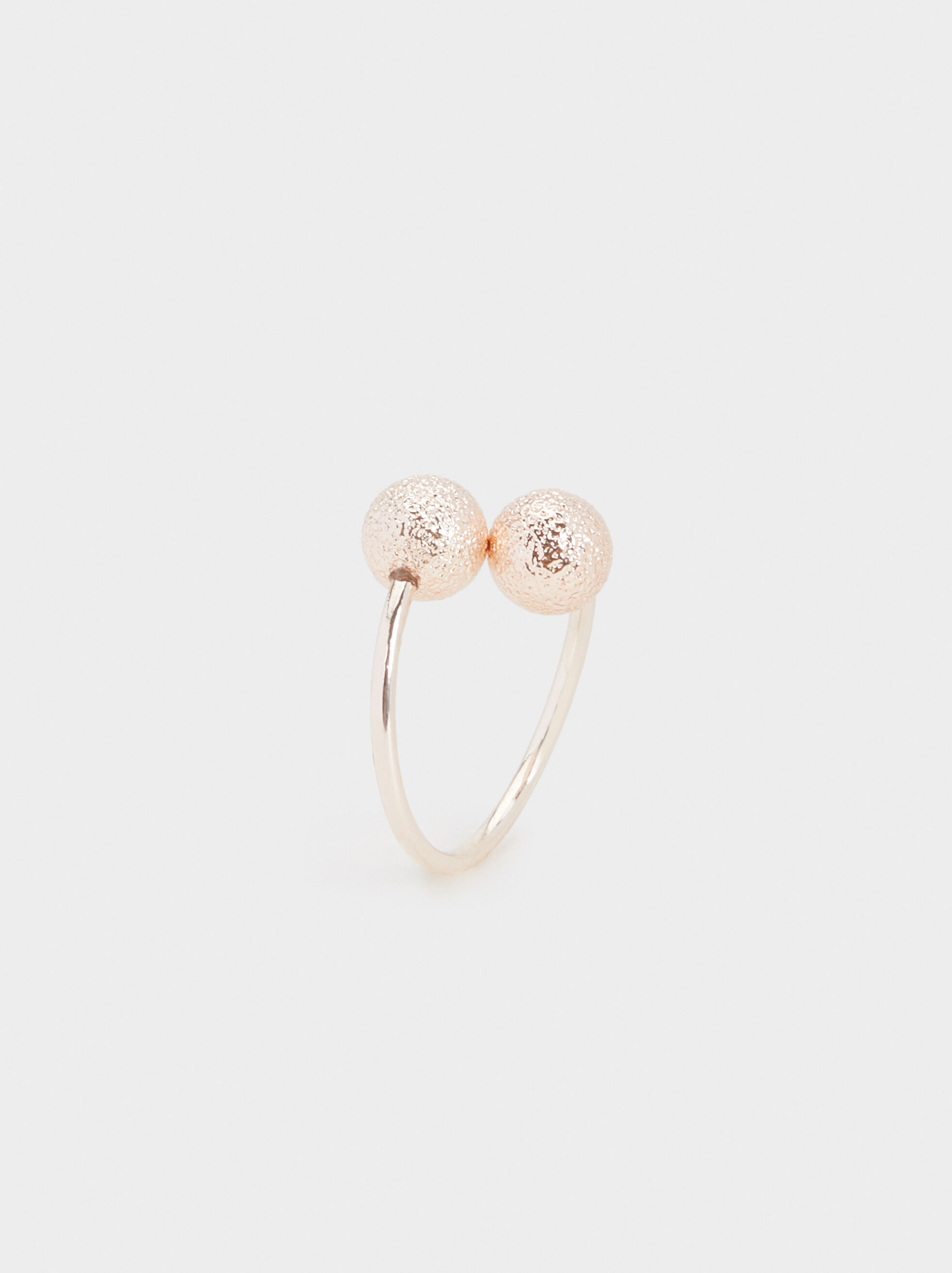 Pink Desert Ring With Spheres, , hi-res