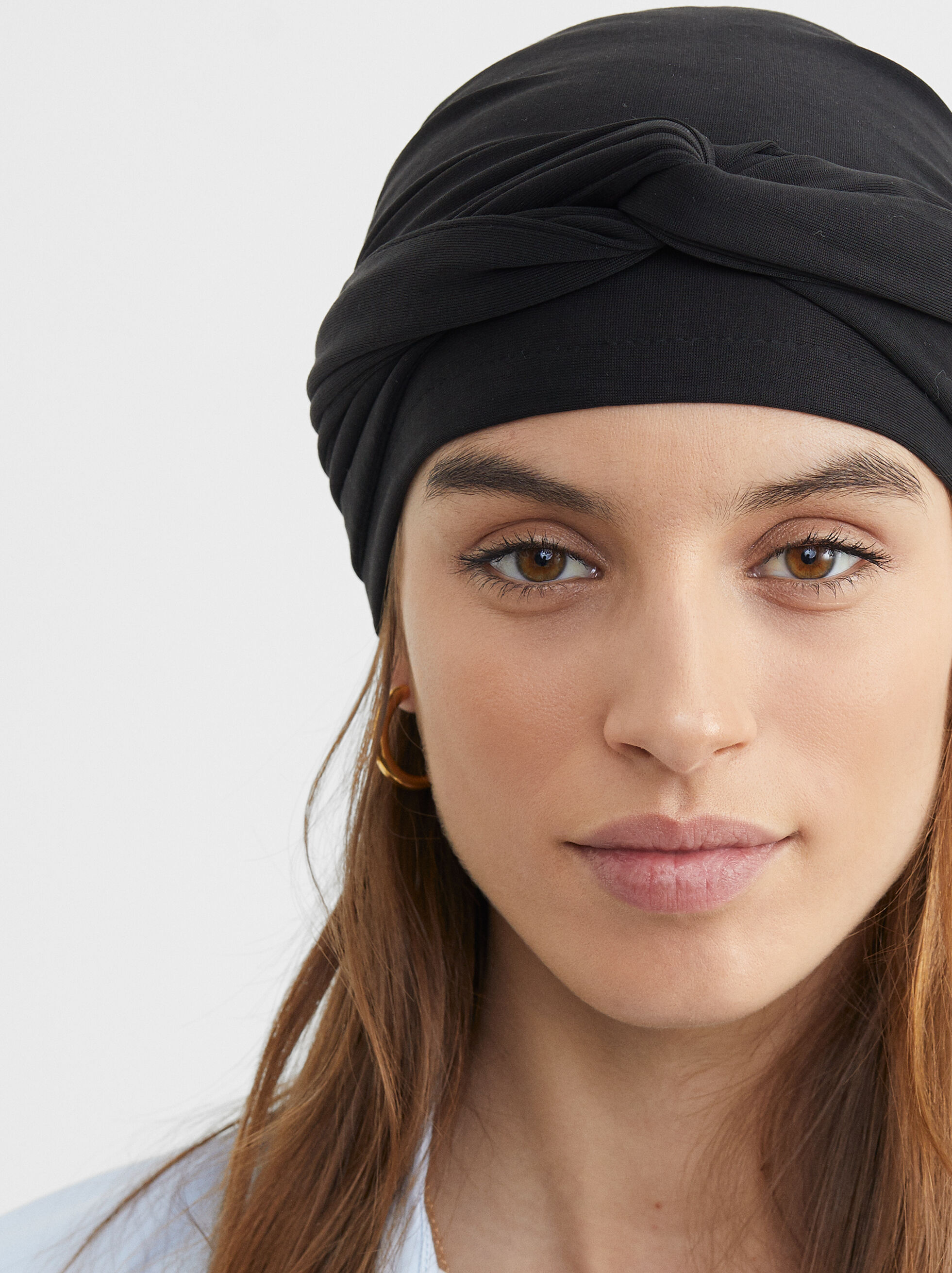 Knotted Turban, , hi-res