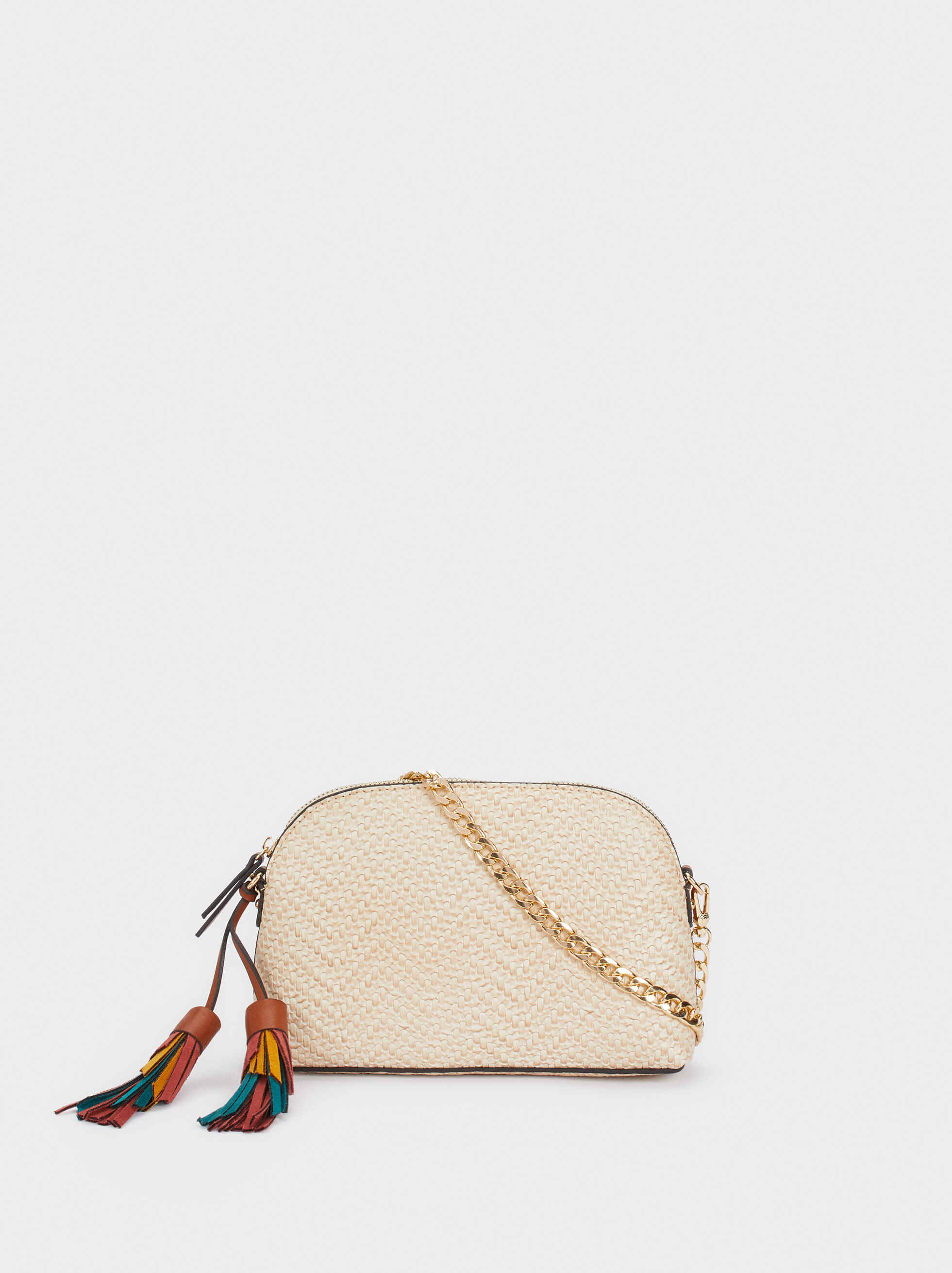 Multicoloured Charm Crossbody Bag, , hi-res