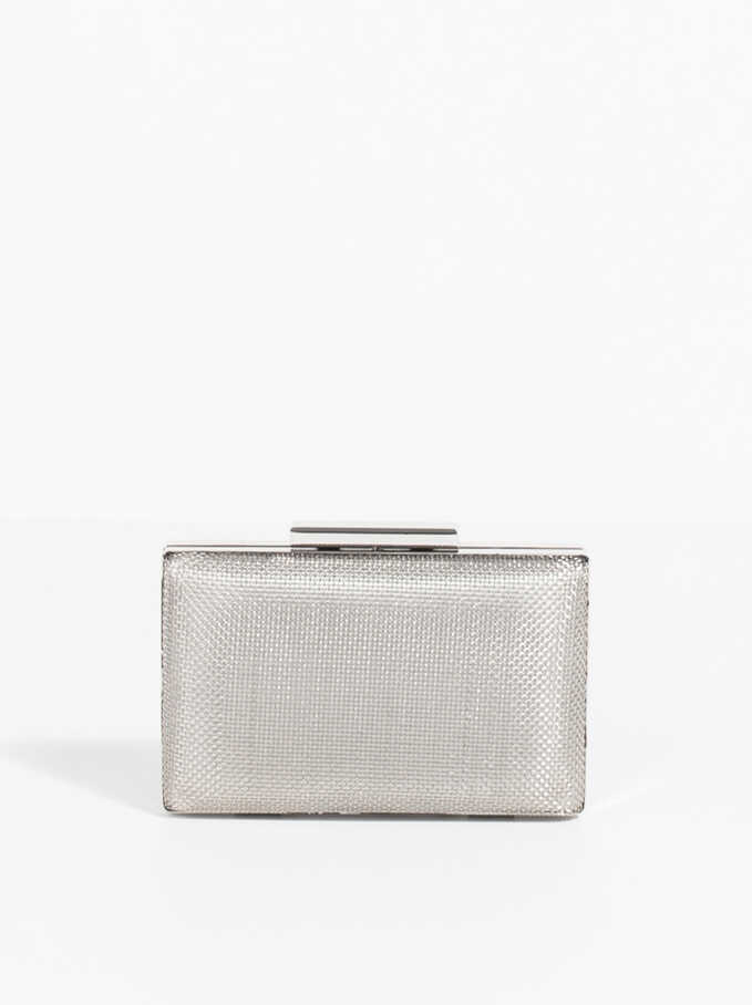 Forever Box Bag, Silver, hi-res