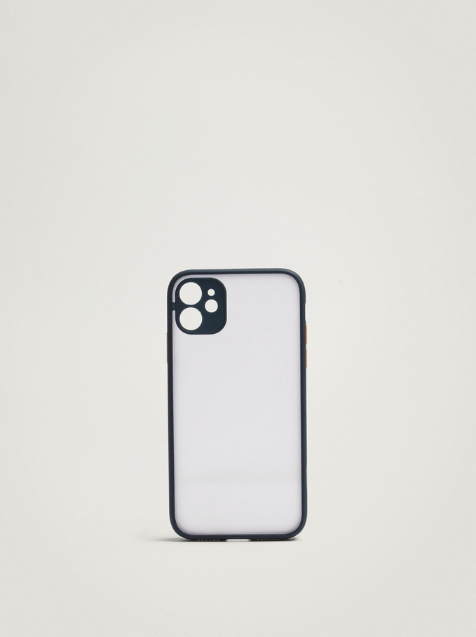 Iphone 11 Phone Case, Navy, hi-res