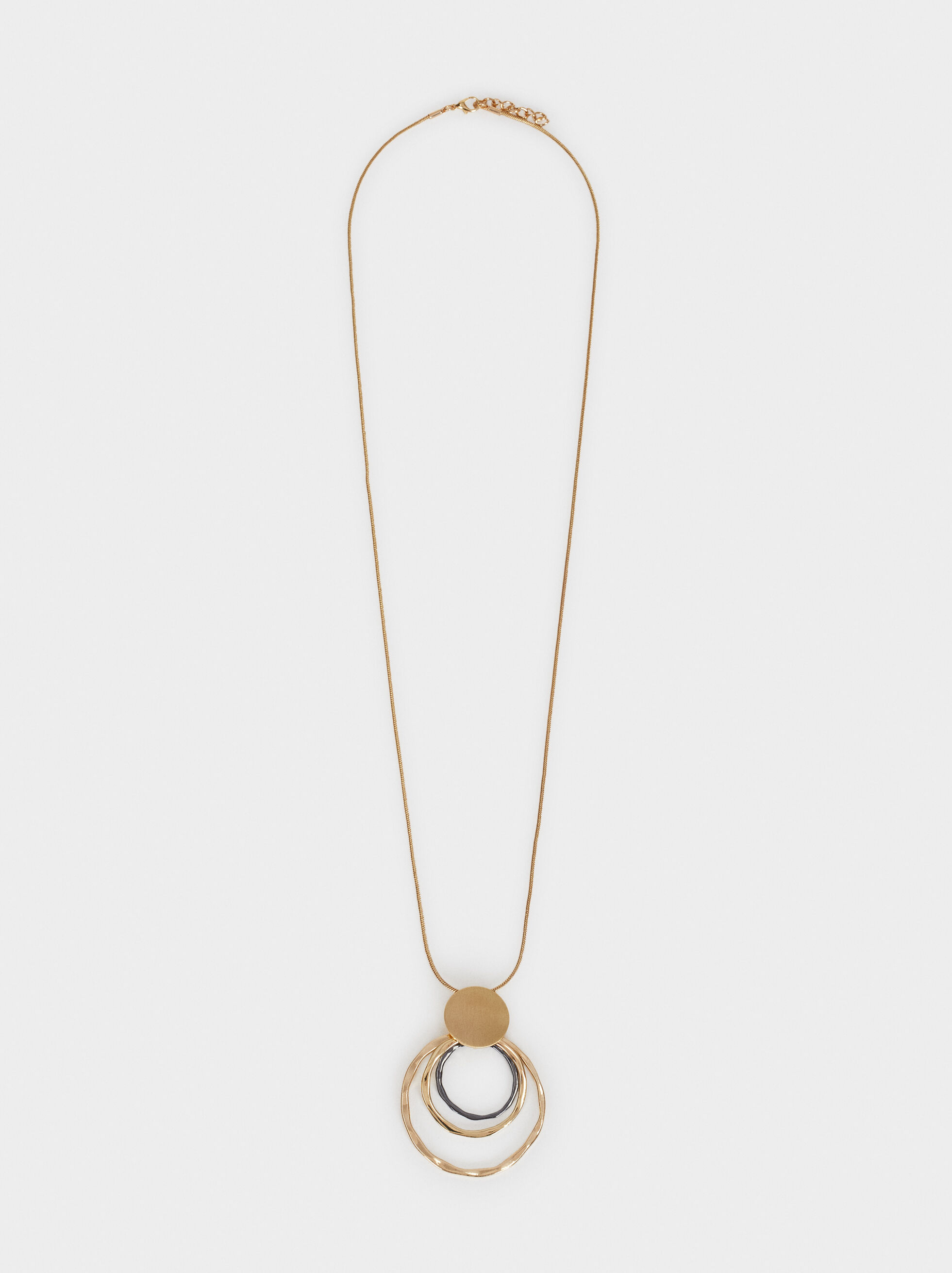 Long Necklace With Pendant, , hi-res